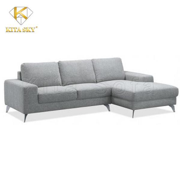 Sofa chữ L thiết kế hiện đại, nhỏ gọn