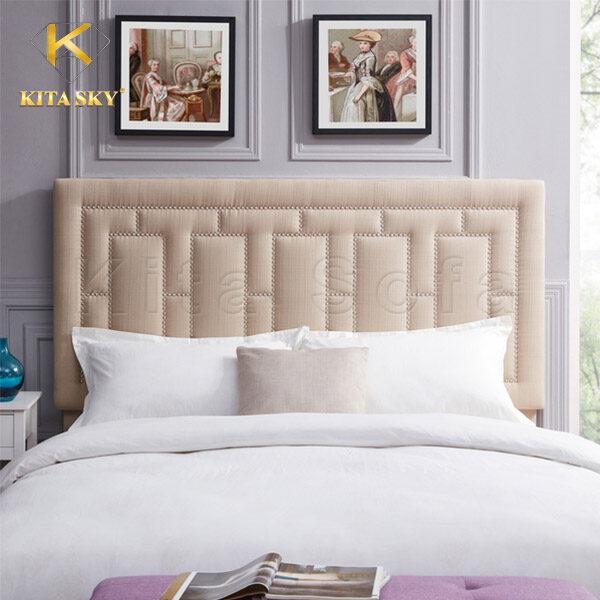 Nệm ốp đầu giường Begie Linen