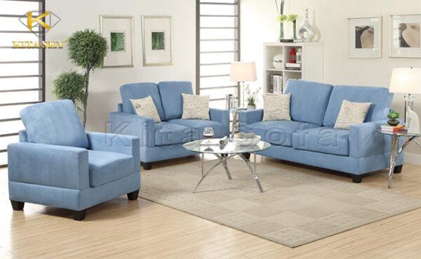 Một cách sử dụng ghế mini phòng khách cho không gian rộng.