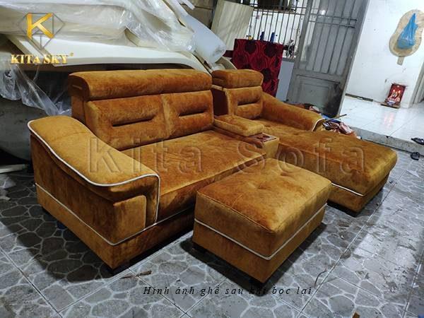 Dịch vụ bọc ghế Sofa tại nhà TPHCM của Kita Sofa sẵn sàng hỗ trợ bạn