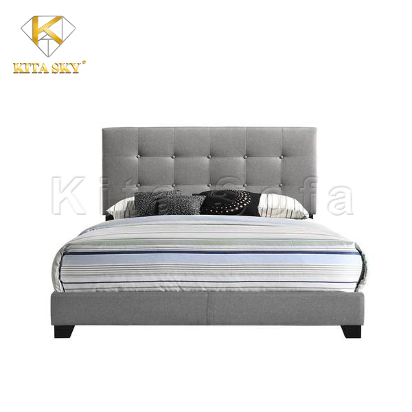 Giường ngủ đơn giản giá rẻ tại Kita Sofa
