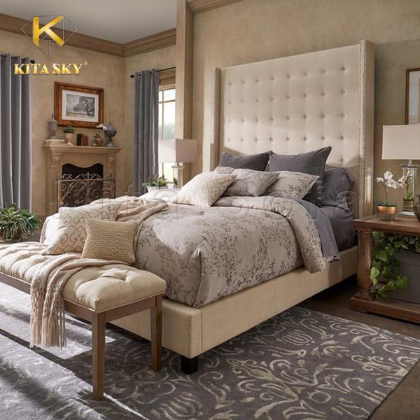 Mua giường ngủ đẹp cao cấp giá rẻ tại Kita Sofa
