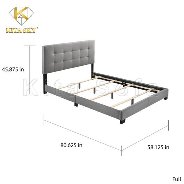 Kích thước giường ngủ đủ để một người nằm thoải mái