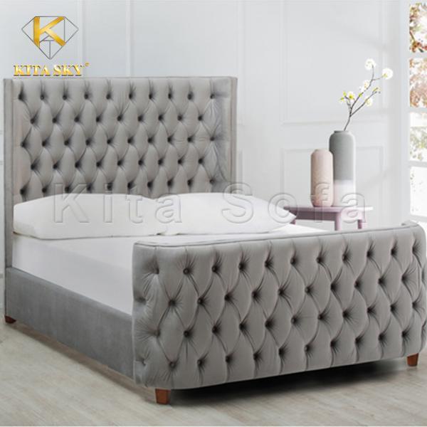 Giường ngủ phong cách châu Âu sang trọng, quý phái