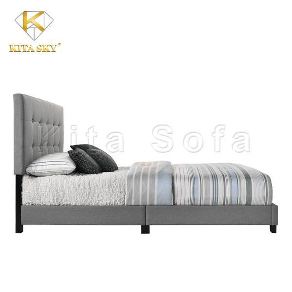 Mua giường đơn chất lượng giá tốt tại Kita Sofa