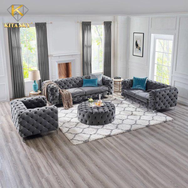 Bộ sofa phòng khách cao cấp đẹp và sang trọng