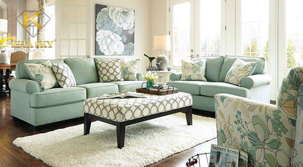 Một số nguyên tắc bố trí sofa trong phòng khách thu hút tài lộc