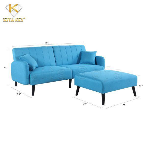Kích thước đóng ghế sofa thông minh phòng khách