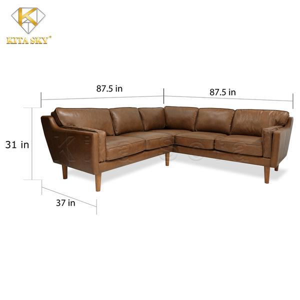 Ghế sofa da phòng khách MAHOGANY – Sự lựa chọn mà bạn đang cần
