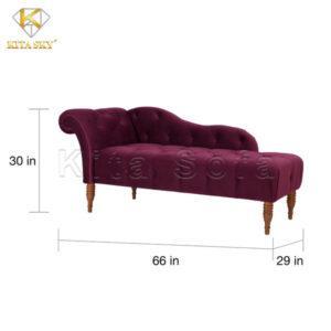 Kích thước sofa phòng khách thư giãn Relax