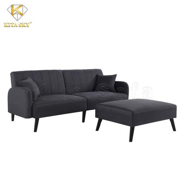 Sẽ khó lòng mà không điểm qua các mẫu ghế sofa phòng khách thông minh màu đen