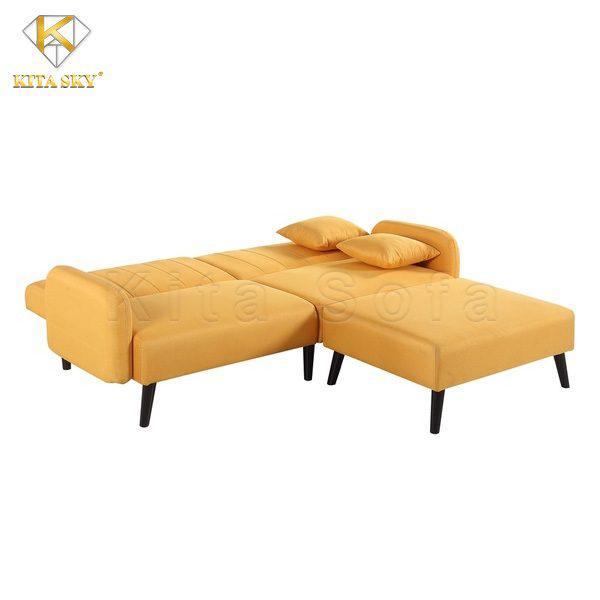 Ghế màu vàng đem lại cảm giác ấm cúng và đầy sức sống