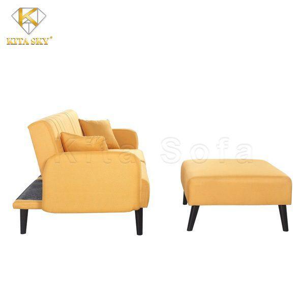 SMART là mẫu sofa phòng khách thông minh rất tinh tế. Tận dụng phần tựa lưng phía sau để biến tấu thành giường nằm vô cùng thông minh.