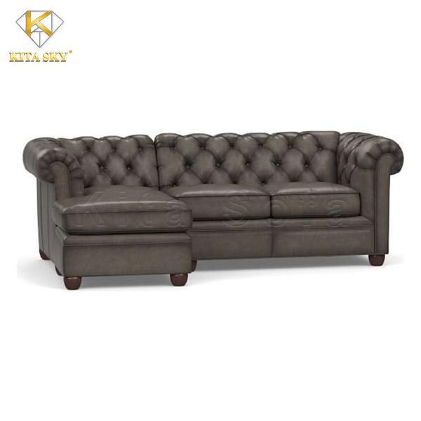 Bàn ghế sofa bọc da đẹp cao cấp giá rẻ
