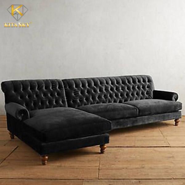 Sofa Nhung Colorful Velvet tinh xảo, đường may khéo léo