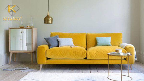 Cách làm sạch sofa vải nhung đơn giản và hiệu quả không ngờ. Cần vệ sinh sofa vải đúng cách để tăng tính thẩm mỹ và độ bền của sofa nhung