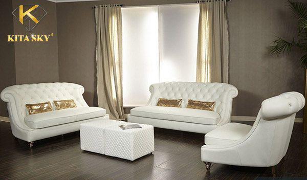 Cách xử lý sofa da bị mốc đẹp bền không phai màu da