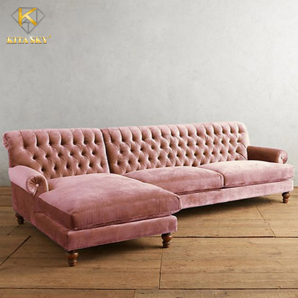 Sofa Nhung Colorful Velvet chất lượng, mẫu mã tinh tế đẹp mắt