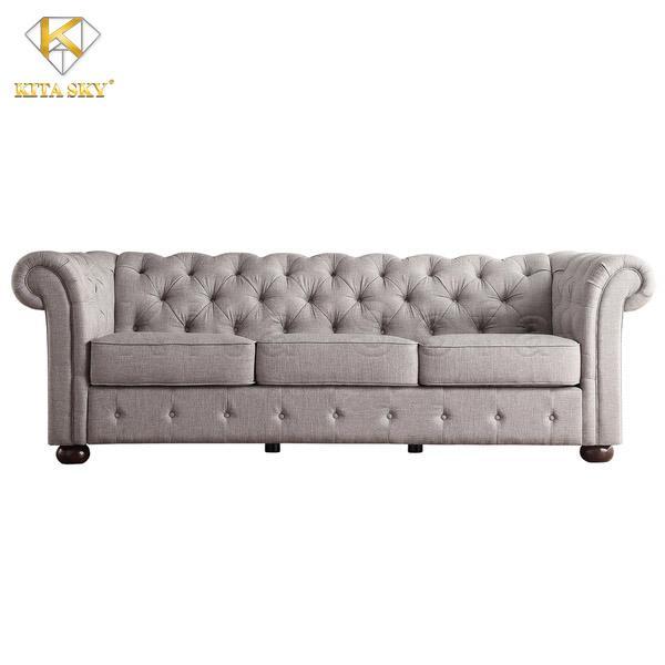 Sofa vải bố nhập khẩu rất dễ vệ sinh