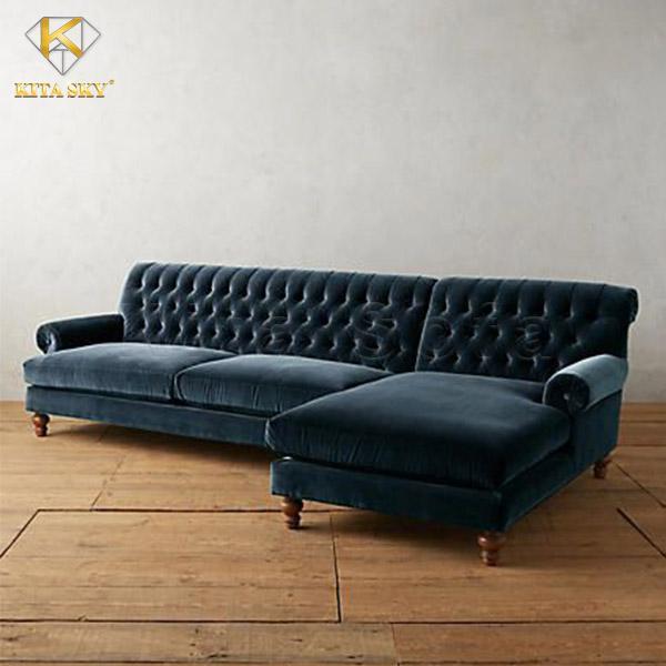 Sofa vải nhung – sự lựa chọn của nhiều gia đình Việt!