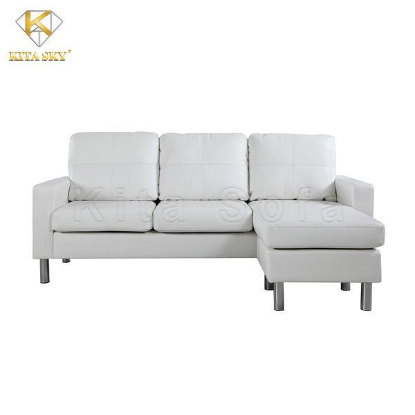 Sofa góc chữ L – Sự lựa chọn đúng đắn cho phòng khách vừa và nhỏ