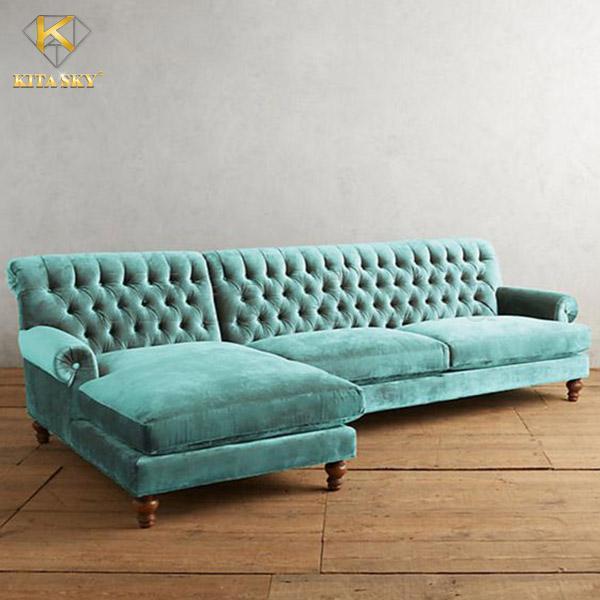 Sofa Vải Nhung Colorful Velvet với nhiều gam màu thời thượng