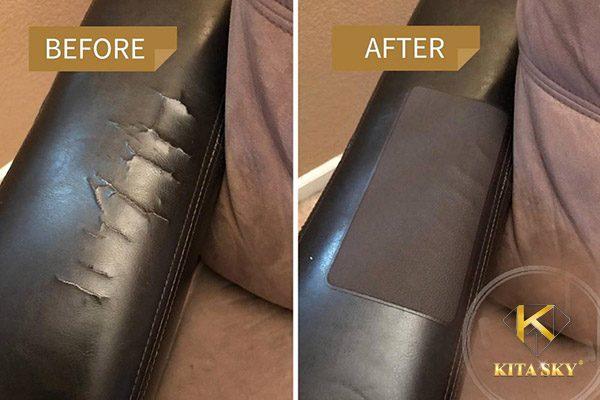 Cách xử lý sofa da bị rách tại nhà vô cùng đơn giản