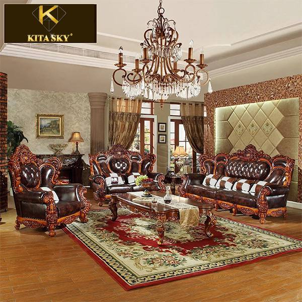 Bộ sofa da gỗ Veronica – Phối hợp hài hòa để có được nội thất ấn tượng!