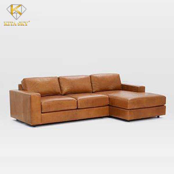 Sofa góc da Bardolino chính là sự lựa chọn cho phòng khách thêm phần sang trọng!