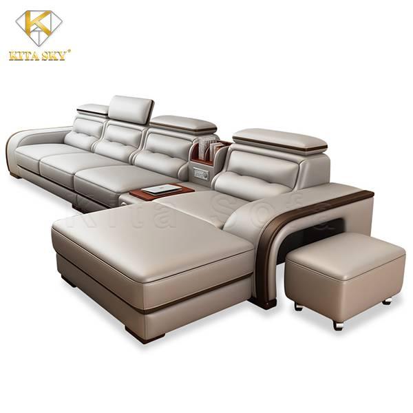 Sofa da đơn thông minh cho cuộc sống tiện nghi, dễ dàng