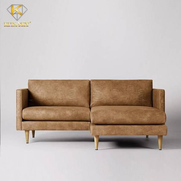 Sofa góc nhỏ cho không gian thêm phần xinh xắn