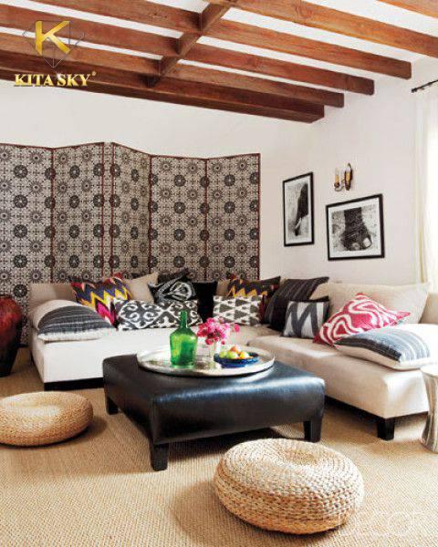 Hãy chọn lựa sofa góc trắng cho không gian hẹp