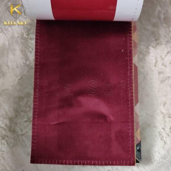 Khách hàng có thể mua vải nhung sỉ giá rẻ tại Kita Sofa.