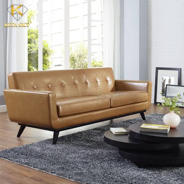 Sofa da bò nhập khẩu từ Malaysia rất được nhiều khách hàng yêu thích