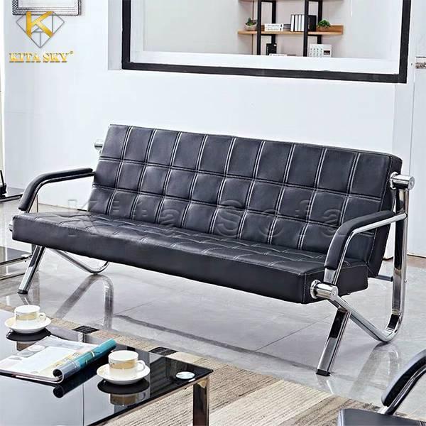 Bàn ghế da giá rẻ cho phòng khách với thiết kế nhỏ gọn