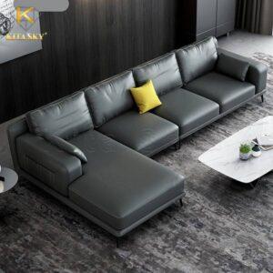 Jisoo là mẫu sofa da phòng khách cao cấp nhập khẩu bán rất chạy tại TPHCM
