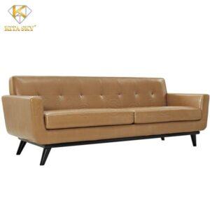 Mặt trước mẫu ghế bọc da nhập khẩu từ Malaysia