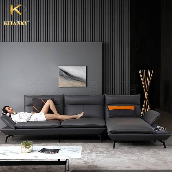Kita là địa chỉ mua bán sofa góc da đẹp nhập khẩu cao cấp.