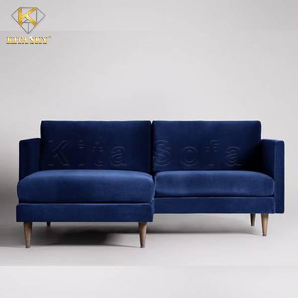 Sofa góc nhỏ tiện nghi, thiết kế tinh tế