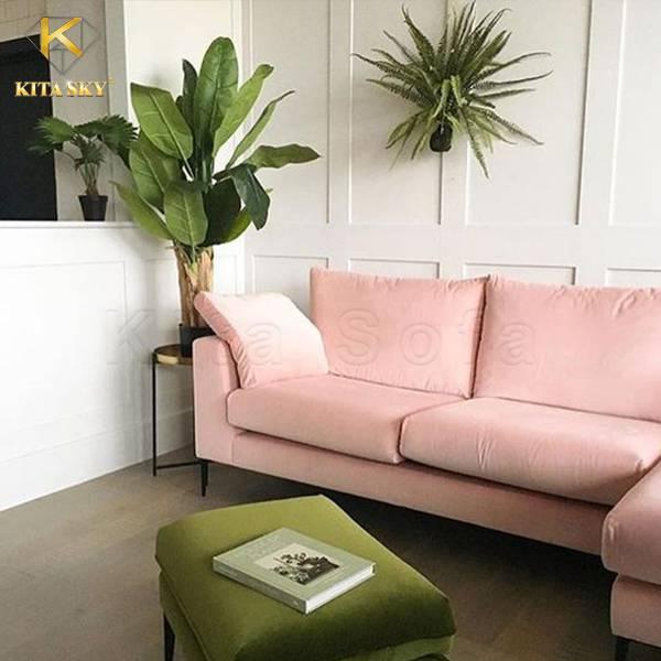 Sofa góc nỉ nhập khẩu cho cuộc sống tiện nghi hơn