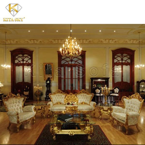 Sofa mạ vàng Oriana - Mang đến sự sang trọng và quyền quý trường tồn với thời gian