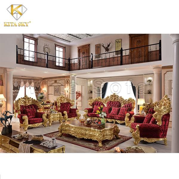 Nội thất dát vàng – Đẳng cấp thượng lưu của người nhà giàu