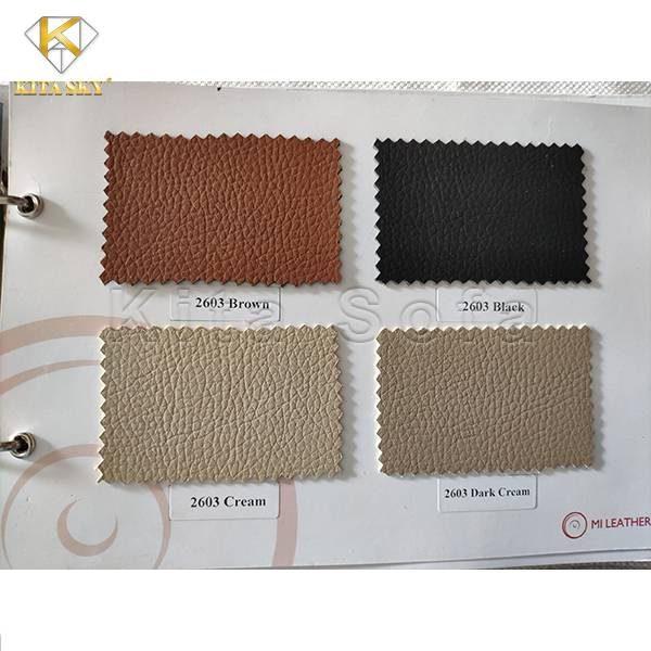 Các loại da ghế thường tập trung vào những gam màu trung tính hay vintage sẽ phù hợp với nhiều không gian nội thất hơn