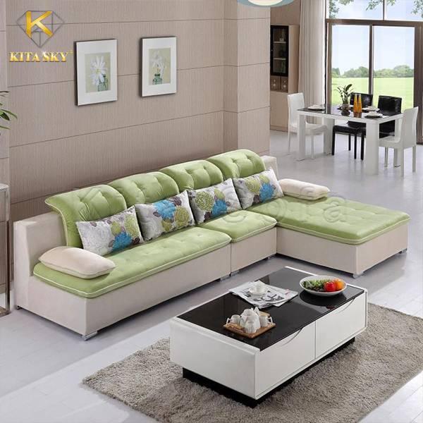 Mẫu ghế sofa vải cao cấp Christabel cho không gian sống hiện đại, tiện nghi