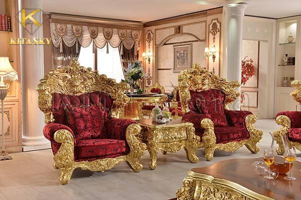 Sofa Dát Vàng Everlux cho không gian sống hoàn hảo đẳng cấp