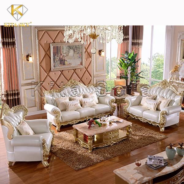 Mẫu bàn ghế sofa mạ bạc Silver cao cấp sang trọng