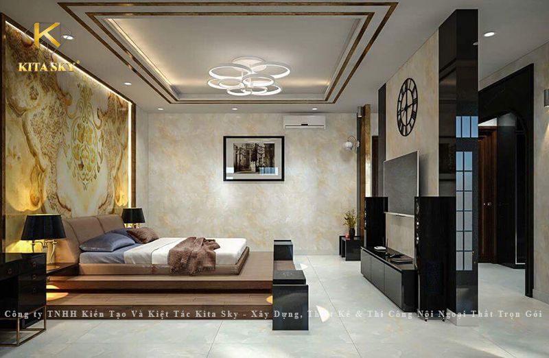 Mẫu thiết kế nội thất mang phong cách kiến trúc Nhật Bản tối giản, sang trọng