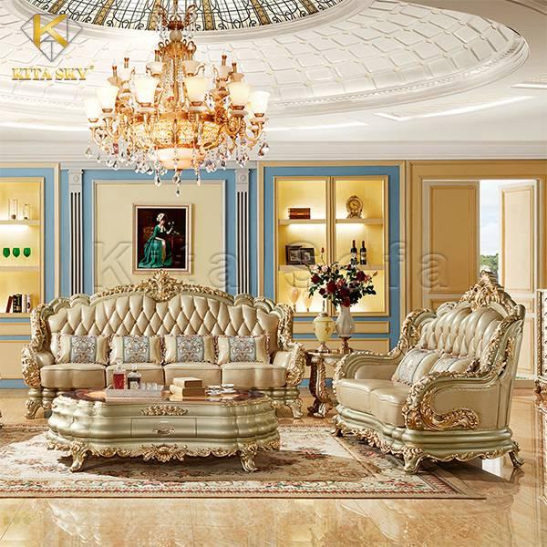 Sofa Cổ Điển Mạ Vàng Pearl - Viên ngọc quý giá của biển cả!