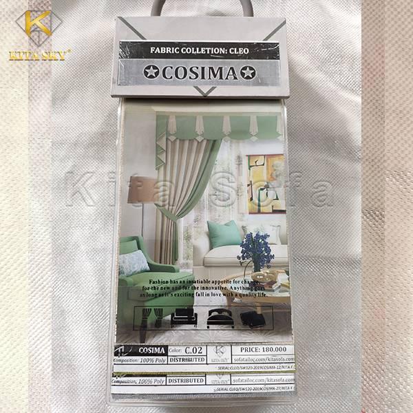 Tập mẫu vải bố Canvas Cosima rất được nhiều khách hàng ưa chuộng