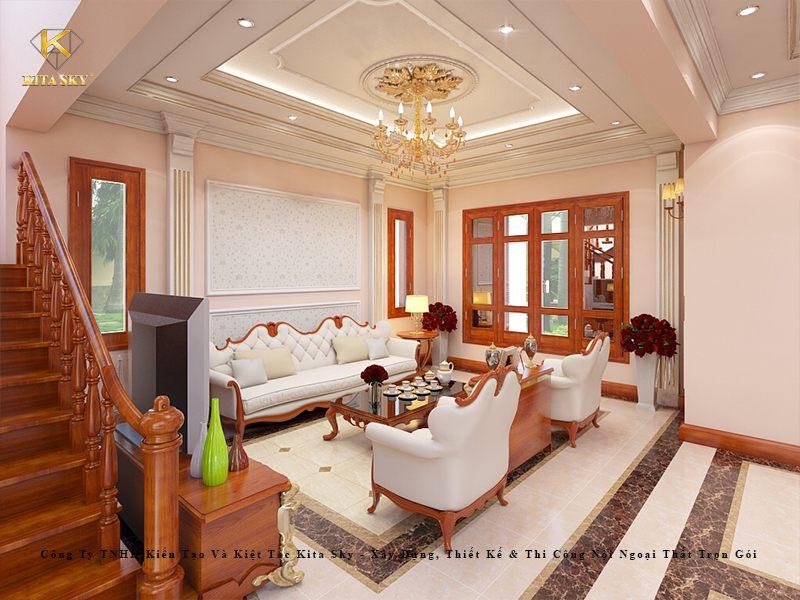 Đặc trưng của thiết kế nội thất theo phong cách cổ điển, tân cổ điển